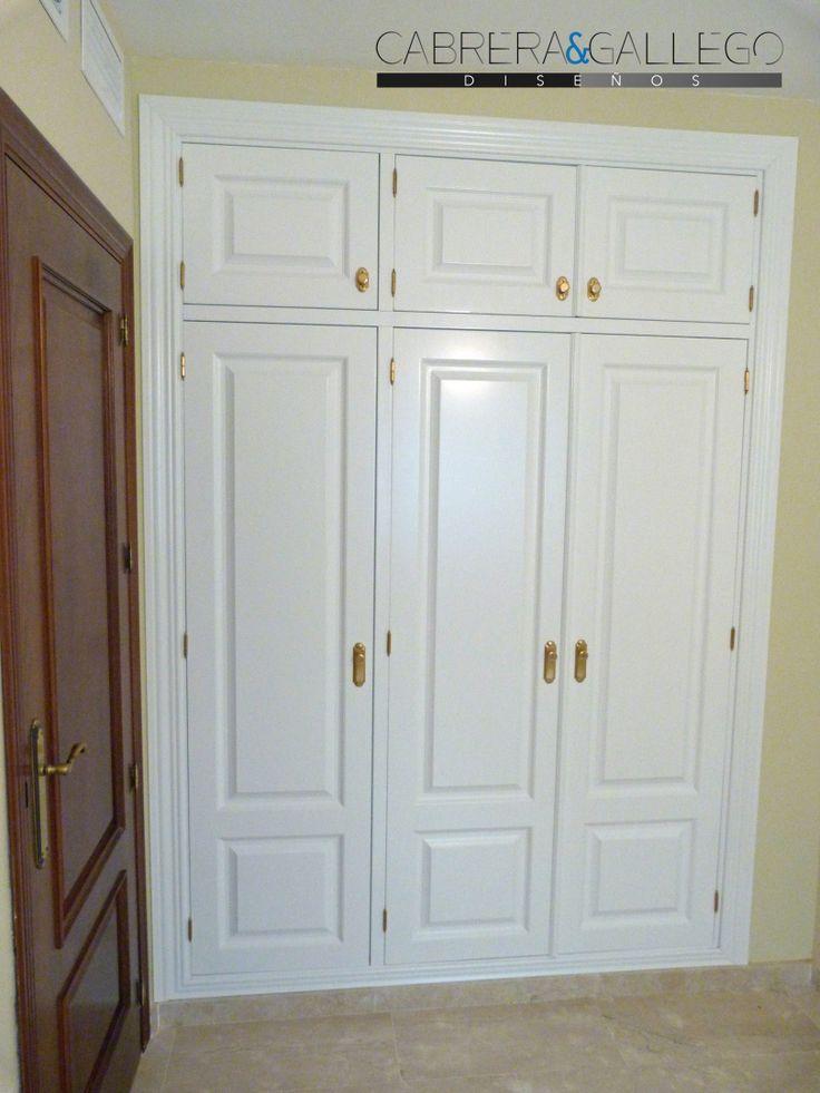 Frente de armario con puertas batientes armarios - Armarios puertas batientes ...