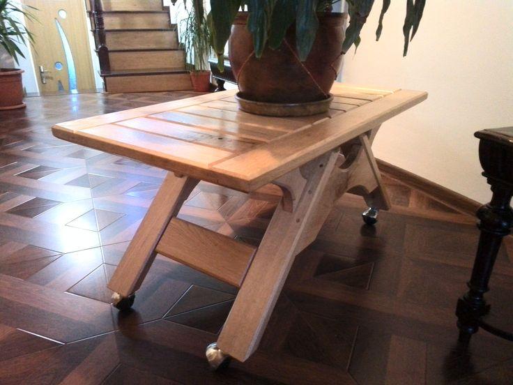 Coffee table Oak4