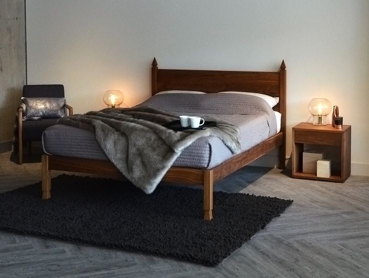 Solid Walnut Bed   The Samarkand Bed From Natural Bed Company Great Ideas