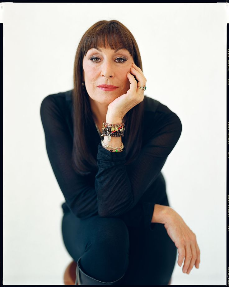 Anjelica Huston by Kwaku Alston