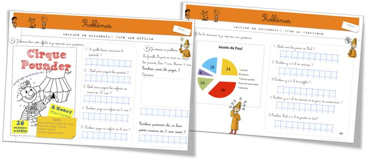 Maths : Lecture de documents