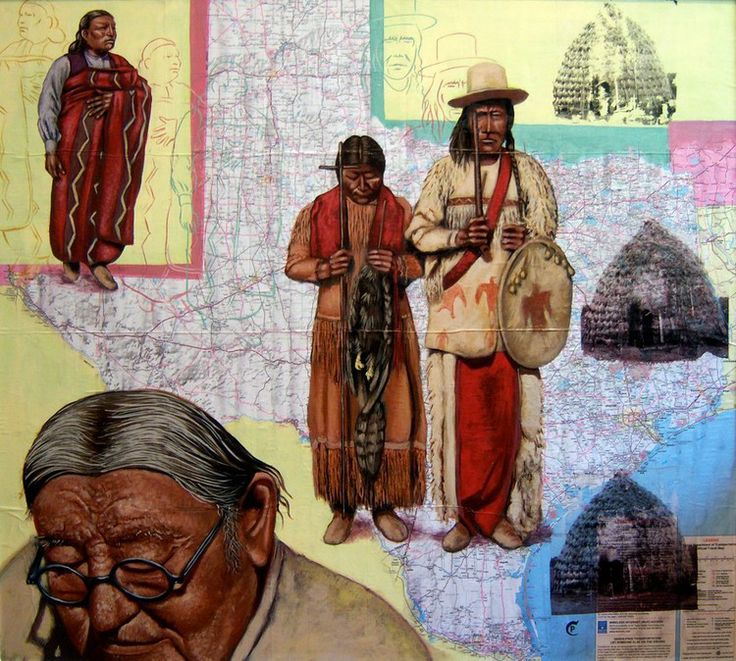 Displaced Peoples, Chris Pappan (Kaw/Osage/Cheyenne River Sioux)