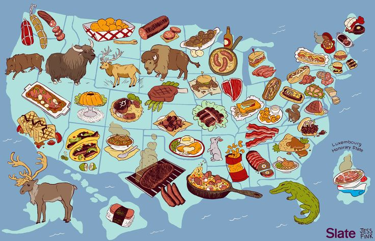 The United Steaks Of America If Each State Could Have