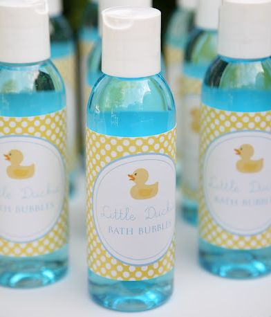 Cute Party Favor Idea For A Baby Shower Or Birthday.
