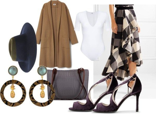 A sustainable outfit with vintage vibe. This look is a great transitional outfit from a office to a night on the town.