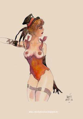 les dessins de Denis Verlaine