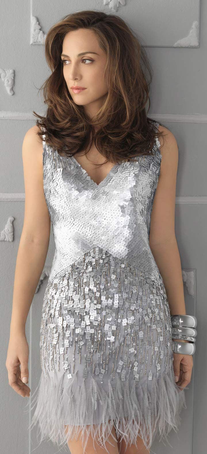 19 best wedding guest dresses images on pinterest beautiful birthplace of tv silver sequin feather wedding guest dress ombrellifo Choice Image