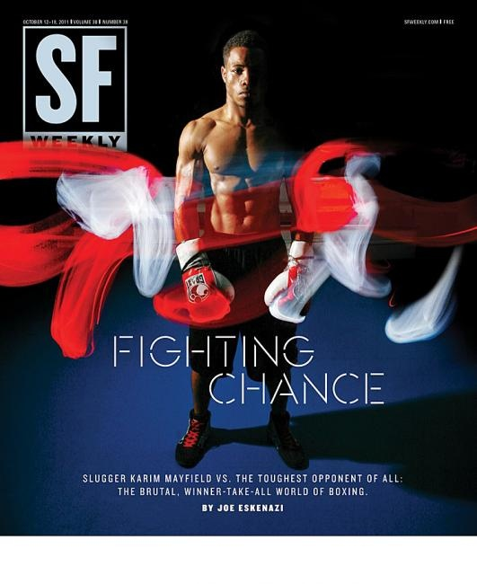 SF Weekly. Fighting Chance. October 2011.