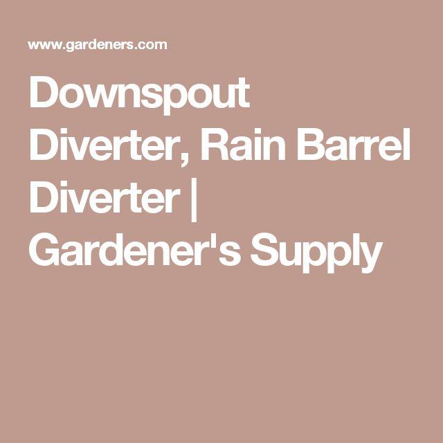 25 Best Ideas About Rain Diverter On Pinterest Yard