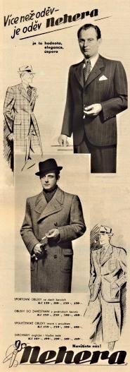 Reklama Nehera 1938