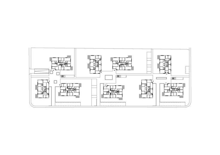 Imagem 12 de 14 da galeria de Complexo Residencial Sonnenhof / Fischer Architekten. Planta Baixa