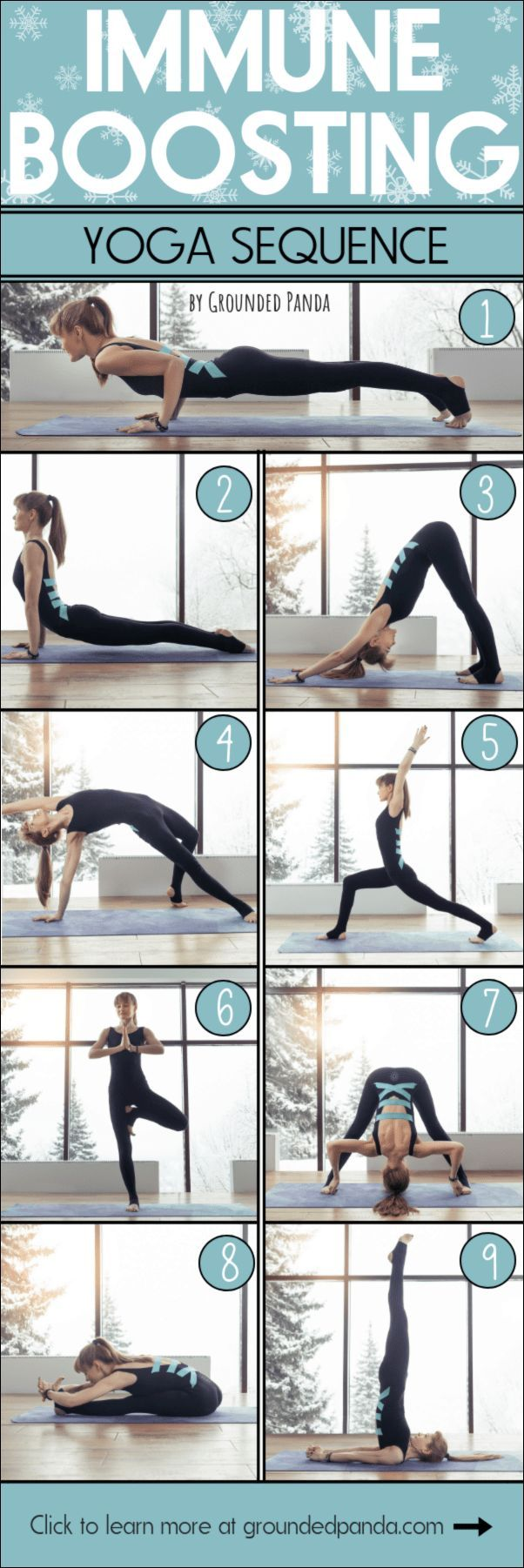 Immune Boosting Yoga Sequence to Stay Flu-Free! – Tommy D.