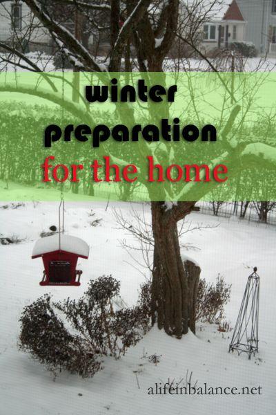 emergency preparedness month: winter preparation for the home   alifeinbalance.net