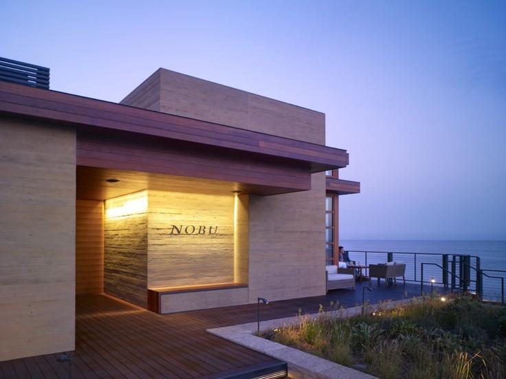 Nobu Malibu, incredible setting on Pacific Coast Highway
