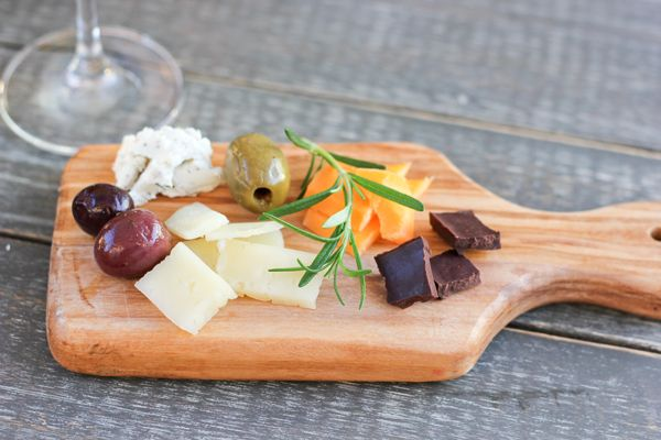 Fabulous Fete: a simple cheese plate // summer entertaining