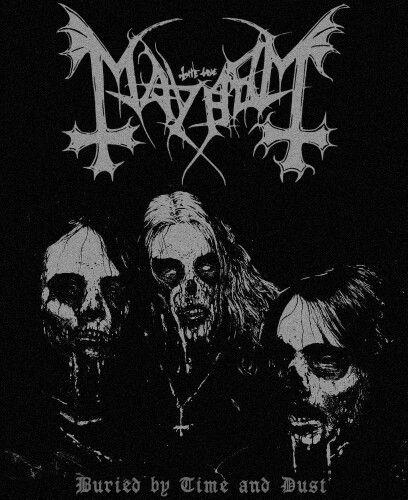 Euronymous, Dead, Necrobutcher.
