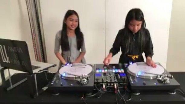 Get this Saturday started right  with  #Biggie & @djsamiraandkayla -  DJs Amira & Kayla @djsamiraandkayla Practicing to Notorious B.I.G. #twinsisterdjs #djamiraandkayla #djsamiraandkayla #djs #kiddjs #notoriousbig #badboyrecords #faithevans #lilkim #hiphop  #picoftheday #photooftheday  #usher #rnb #vsco #vscocam #atlanta #NewYork #losangeles #mua #houston #chicago #dmv #Detroit #philly #fashion #fashion #magazine
