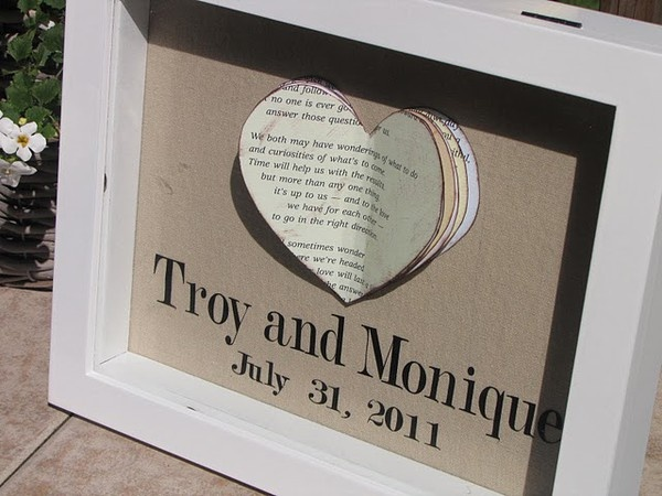 Cute Wedding Gift: Cute Handmade Wedding Gift