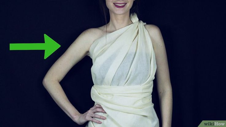 3 Easy Ways to Make a Toga out of a Bedsheet - wikiHow