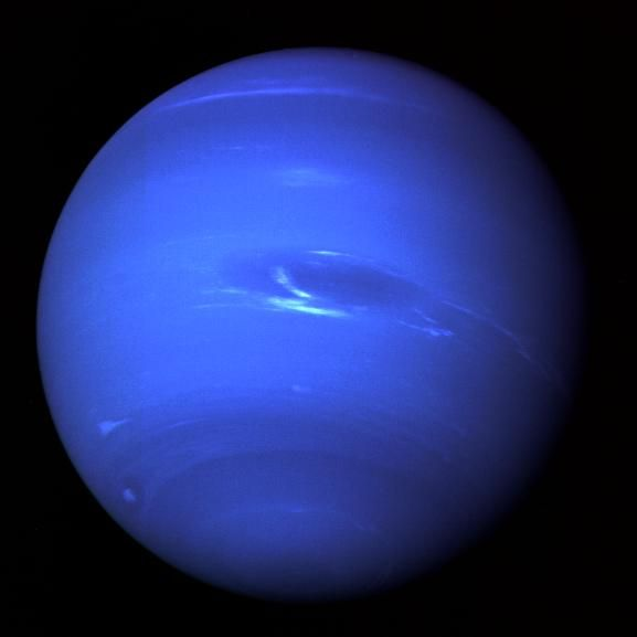 Neptune, the furthest planet from the Sun.