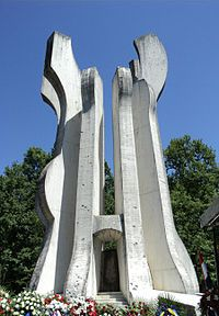 Sisak #momument by Želimir Janeš / www.spomeniky.com/sisak / #balkan #spomenik #brutalist #utopian #concrete #brutalism #architecture #sisak