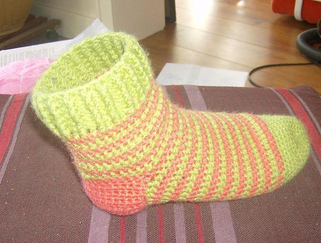 sokken haken | kan ik een breipatroon ook haken