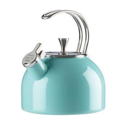 Kate Spade New York® Tea Kettle, Turquoise #katespade #teakettle #giftsforgrads