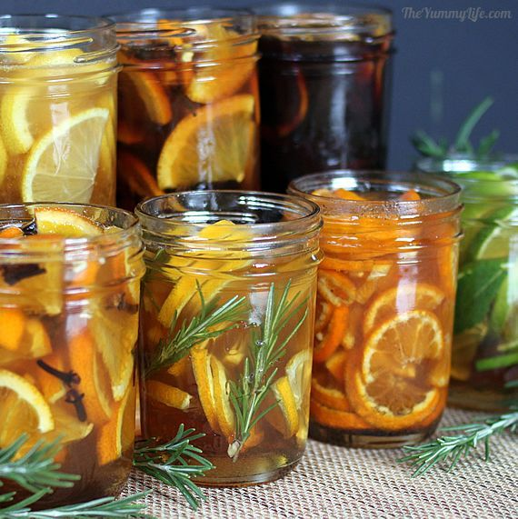 Natural Honey Citrus Syrups for coughs & sore throats — sooth a cold ...