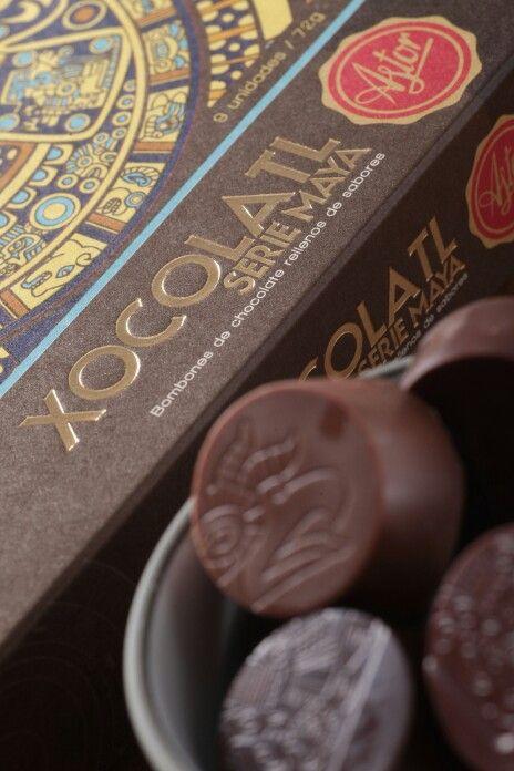 Como tributo a la cultura Maya nace la serie Maya Xocolatl. Combinaciones de sabor que deleitan los sentidos.
