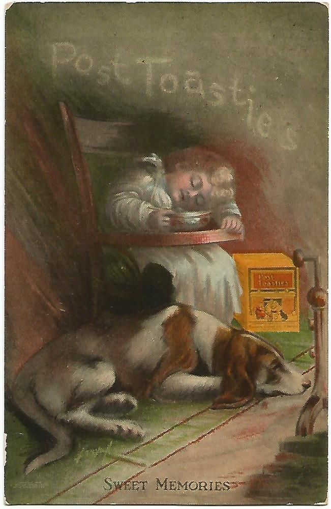 Battle Creek Michigan ~ Postum Cereal Co. Ltd. Post Toasties Advertising c.1910