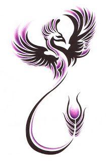Phoenix tattoos for women