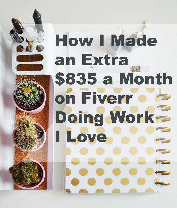 It's possible to make real money that impacts your debt and savings with Fiverr. I used it when I was looking to bridge the gap in my income as a stay-at-home Mom (and work-at-home Mom!) Here's how I did it....