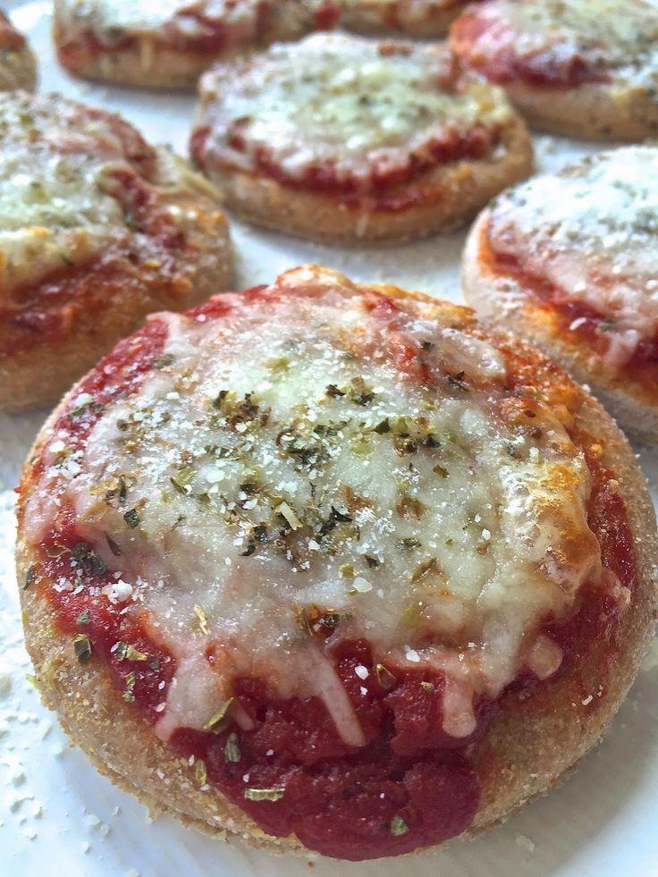 Dinner Recipe Homemade Whole Wheat Mini Pizzas