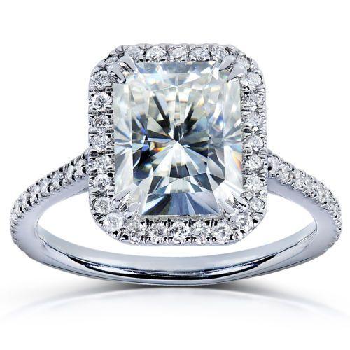 Forever-Brilliant-Radiant-cut-Moissanite-amp-Diamond-Engagement-Ring-3-Carat-ctw