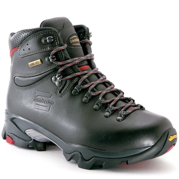 Zamberlan Men's Vioz GT - Zamberlan® Vioz GT - Ideal boot for extended backpacking, long trekking, four season hikes. Key features include Hydrobloc® full grain leather upper, Zamberlan® exclusive Vibram® 3D sole for great grip, exceptional cushioning, wear resistance and traction, GORE-TEX® lining for utmost protection and breathability.