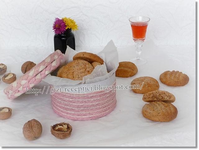 Gizi-receptjei. Várok mindenkit.: Rumos-diós keksz.