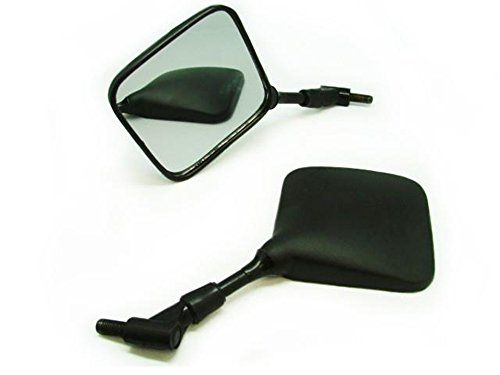 TMS Dual Sport Motorcycle Mirrors Honda Suzuki Kawasaki:   To fit: Suzuki: DR, 650SE, 400S, 200SE, 125L, 70, 400SM, DR-Z, 400EK3, 250K3, 125LK4, 200SEK2, 650SEY, 350X, 350V, 250P, 250SEP, Kawasaki: KLX, 110, 140, 250S, KLX, KLR, 110L, 450 Champions Edition, 530 Champions Edition, EX, KLX, 250S, EXC, 110 Monster Energy, 450 Racing, 530 Sixdays, 250G7 Super Sherpa, 110-A2, 125-A1, 300A8, 500D9 Ninja 500R, Honda: XR, 650LL8, 650R8, 650L, 250R, 650R, 50R3, 70R3, 80R3, 400R, 250RY, 650RY, 7...