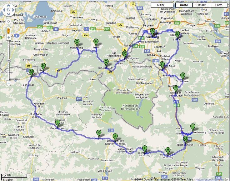 Folgen Sie uns im zweiten Teil unserer Tour durch die Salzburger Bergwelt mit unserem Roadbook, dass Ihnen die genaue Route beschreibt.
