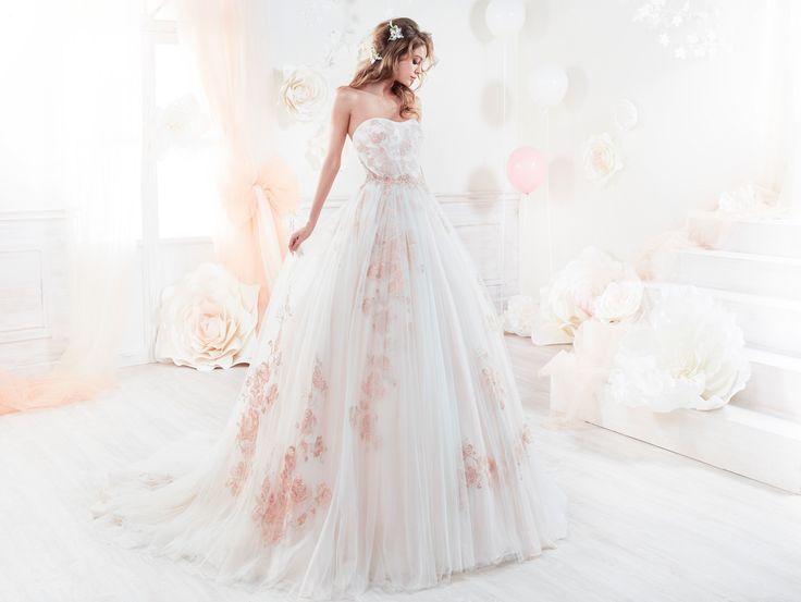 Moda sposa 2018 - Collezione COLET.  COAB18244. Abito da sposa Nicole.