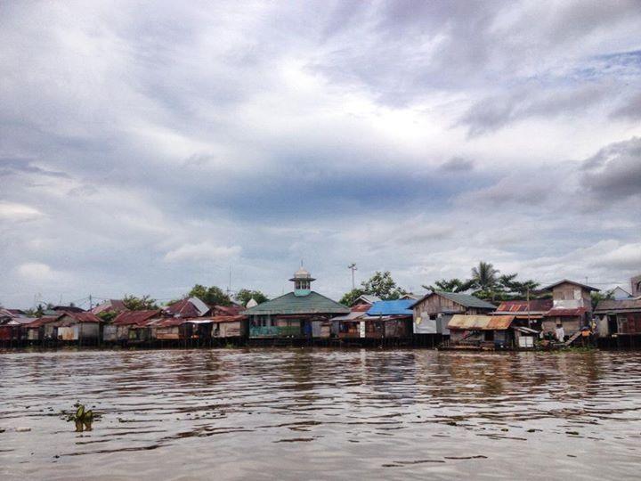 Barito River, Banjarmasin - South Kalimantan