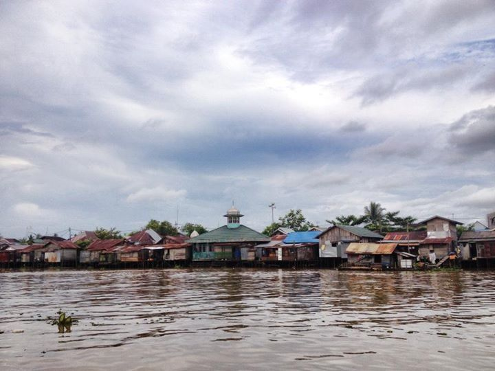 Barito River, Banjarmasin - South Kalimantan