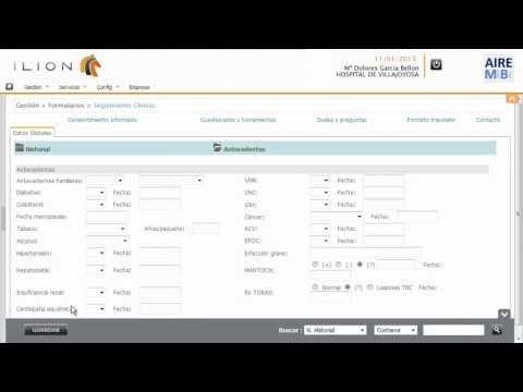 everilion: Plataforma de base de datos de seguimiento clínico para reumatología