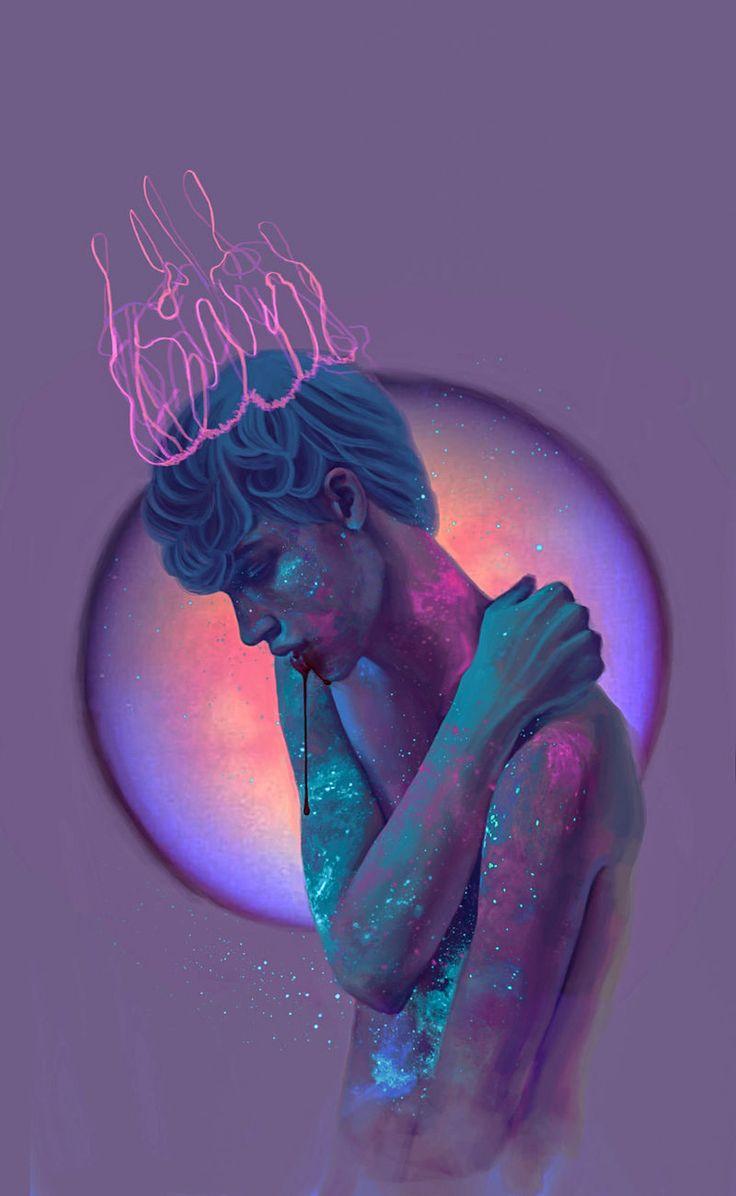 Georgia Thelogou cria retratos vívidos e noturnos, com tons flúor e demonstra seu talento ao criar sutilmente uma atmosfera onírica e ao mesmo tempo cósmica, quase psicodélica. Veja mais!