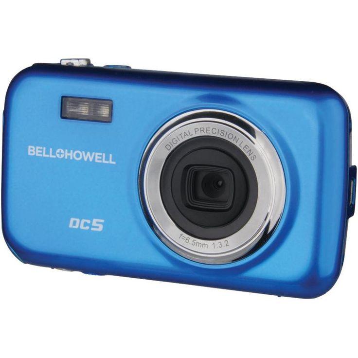 Bell+howell 5.0-megapixel Fun Flix Kids Digital Camera (blue)