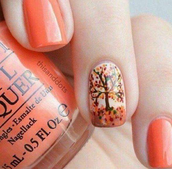 Mejores 30 imágenes de Autumn Nails en Pinterest | Uñas de otoño ...