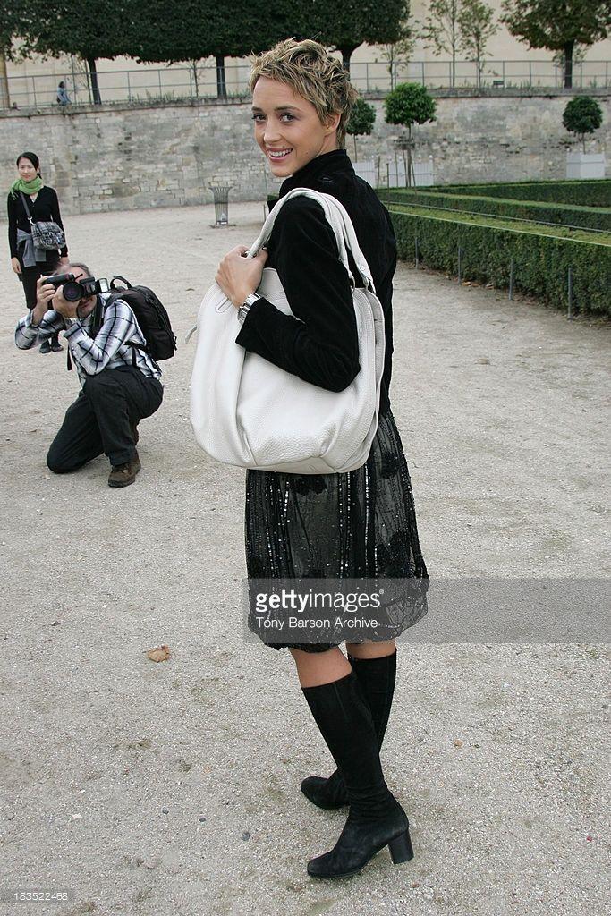 Photo d'actualité : Helene de Fougerolles during Paris Fashion Week...