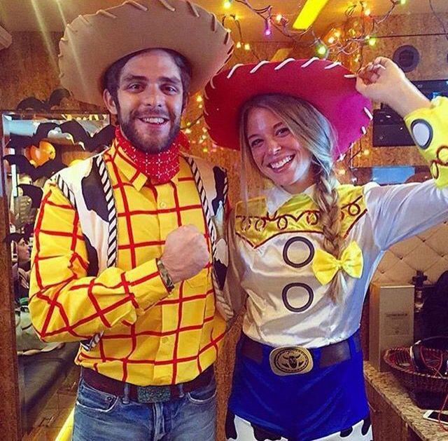 Thomas Rhett and Lauren lookin adorable