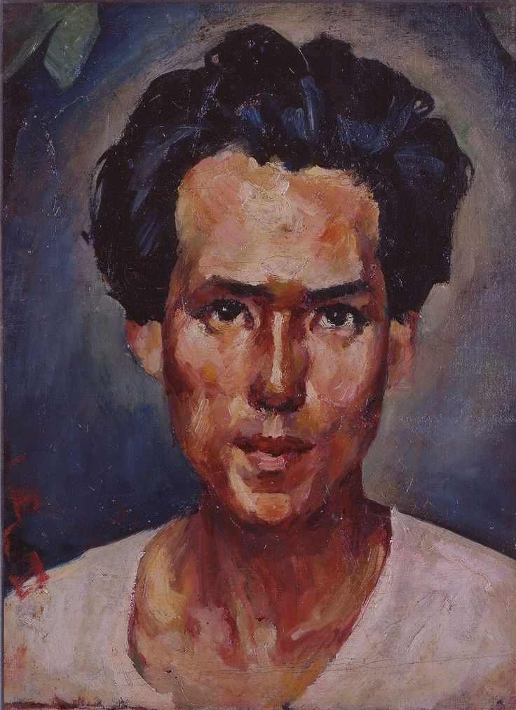 /Saeki Yuzo self-portrait.