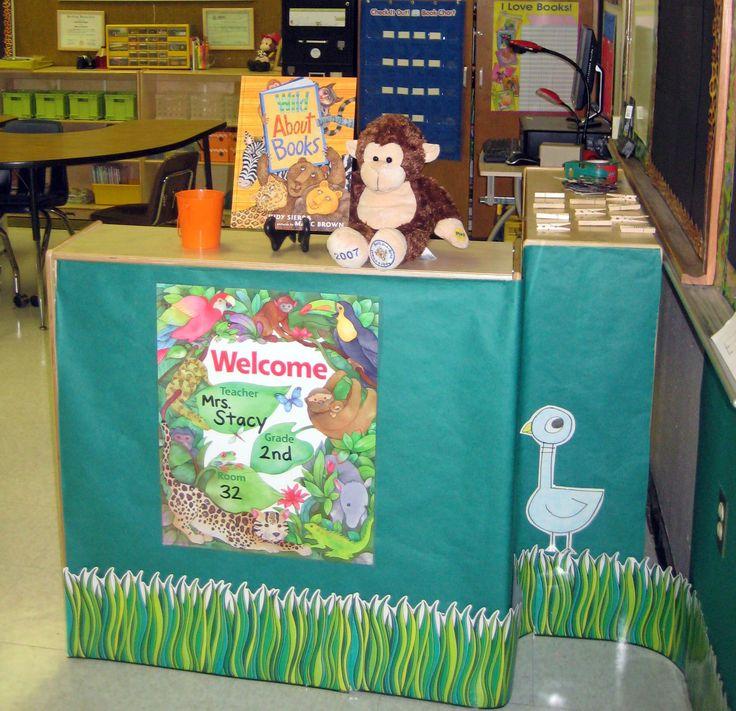 Jungle Theme Classroom Decorating Ideas Part - 46: 195 Best Jungle Themed Classroom Images On Pinterest | Classroom Decor, Classroom  Ideas And Classroom Organization