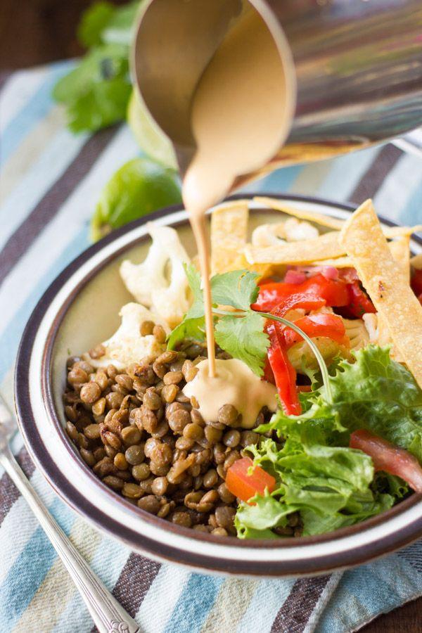 lentil-taco-bowls